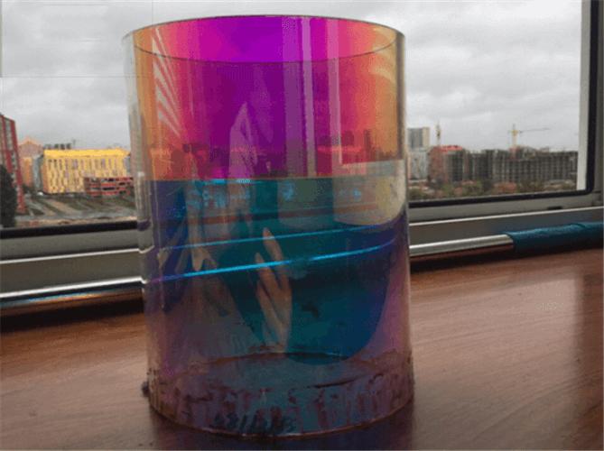 dichroic coating quartz glass tube