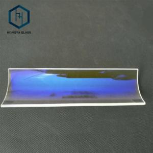 Dichroic Quartz Glass UV Cut IR Pass UV Cold Mirror For Coating
