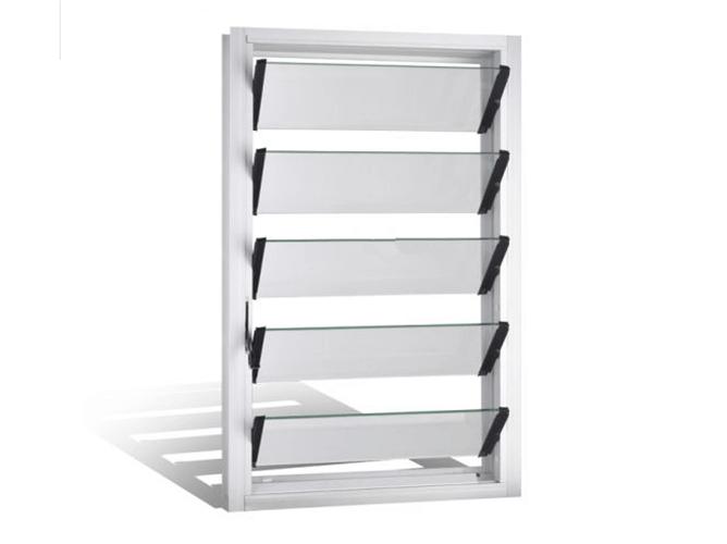 louver window glass