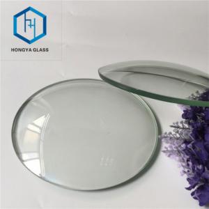 ROUND CONVEX CLOCK GLASS, Silk Screen Printing Glass Clock Glass Face