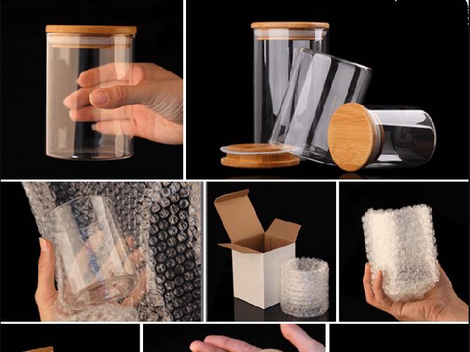Borosilicate glass seal pot